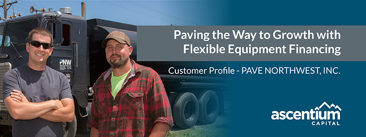 Pave Northwest Grows with Equipment Financing